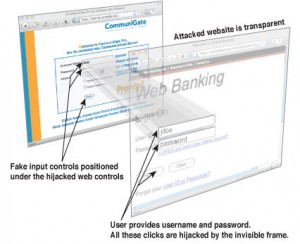 Ejemplo clickjacking