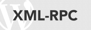 Logo de XML-RPC WordPress